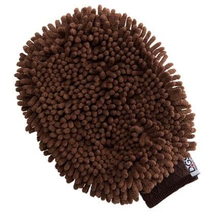 DGS DIRTY DOG GROOMING HANSKE 25x18CM brun